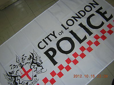 New Reproduced 2012 London Olympic City of London Police Ensign Flag 3X5ft