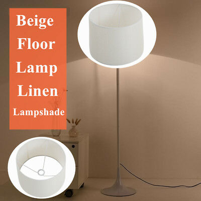 Modern Home Cotton Textured Fabric PVC Linen Shade Room Table Ceiling Lamp Shade