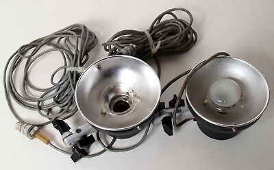 2 Novatron Flash Heads 2010 Untested Sold As Is