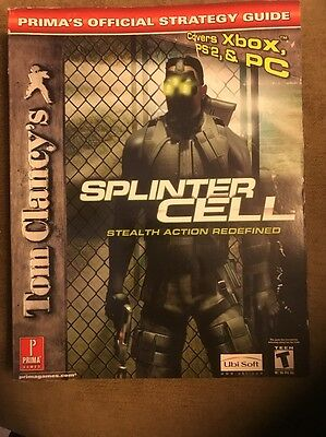 Tom clancy's splinter cell: chaos theory (2005) xbox box cover art.