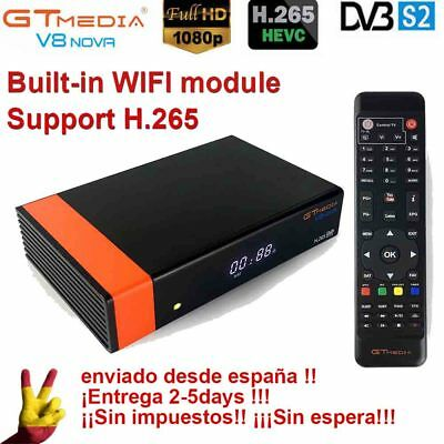 GTMEDIA V8 Nova DVB-S2 FTA Satellite Receiver HD 1080P TV Receptor built-in WIFI