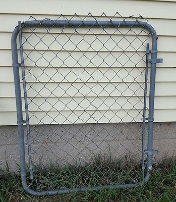 Vintage Old Metal Garden Gate Architectural  Garden Art Cottage Style