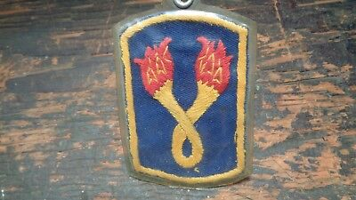 RARE Vietnam vintage 196th Infantry Brigade uniform pocket patch Theater made