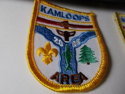 Hd3   An Assortment Of Nine Quebec Boy Scout Badges  Canada Scout Badges