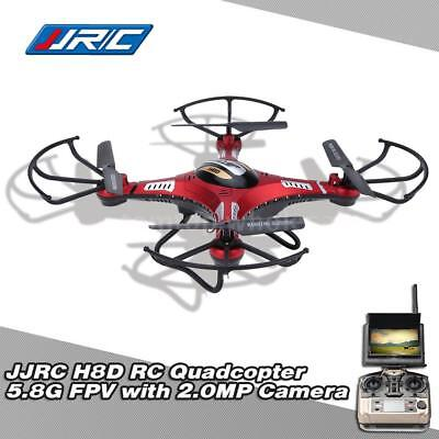 JJRC H8D Quadcopter FPV RTF RC Drone With 2.0MP Camera FPV Monitor H7Q8
