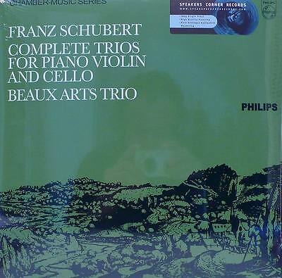 Schubert Philips 835393/4  2Lp Complete Trios For Piano, Violin And Cello 180G