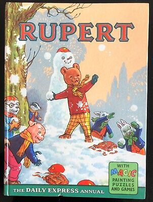 RUPERT BEAR ORIGINAL ANNUAL 1962 Inscribed Not Price Clipped VG PLus