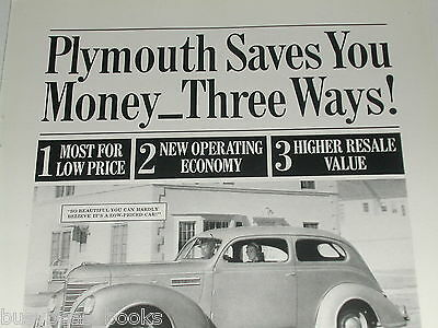 1939 Plymouth ad, Plymouth steel body coupe