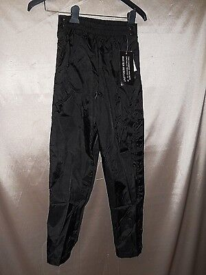 Olympics Windbreaker Pants 10-12y-W XS VTG 90s Hip Hop popper snap tear away NWT