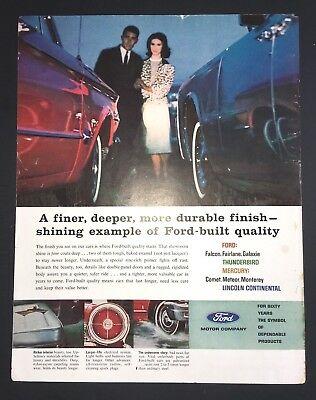Life Magazine Ad FORD MOTOR COMPANY The Sea Special Double Issue Cover