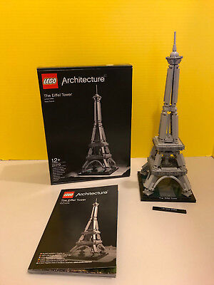 Lego Architecture The Eiffel Tower 21019 2895 Picclick Uk