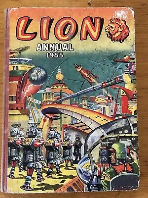 Lion Annual 1955. Published By Fleetway