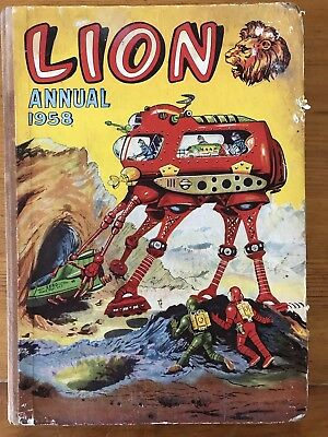 Lion Annual 1958. Published By Fleetway