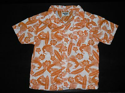 Toddler Boys OshKosh Bgosh Hawaiian Floral Surf Top 18 Months