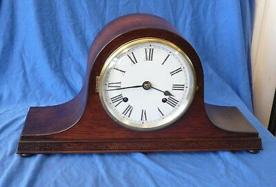 Vintage Napoleon Hat Striking Clock - Serviced and Working order