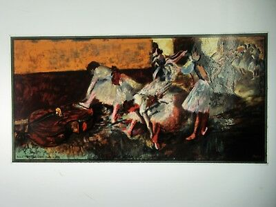 Glassmasters: Degas:  Dancers in the Green Room 5 x 10 inches