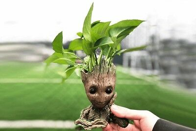 Guardians of The Galaxy Baby Groot Figure Flowerpot Pen Pot Holder Toy Best Gift
