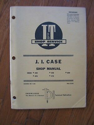 Business & Industrial CASE 470 570 TRACTOR SERVICE ENGINE PARTS OPERATORS MANUAL 188D 188G 148G 159G Heavy Equipment Manuals & Books