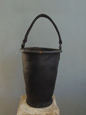 ANTIQUE LEATHER FIRE BUCKET - 19th Century
