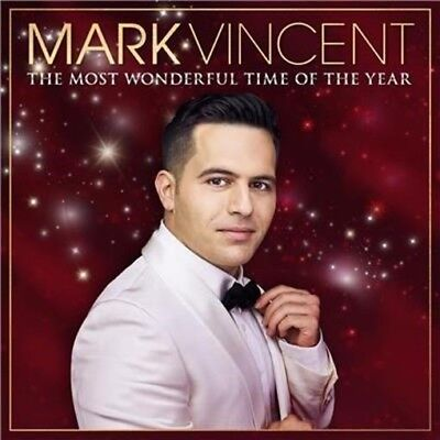 MARK VINCENT The Most Wonderful Time Of Year CD NEW