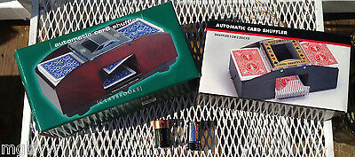 Automatic card shufflers 2 in original boxes with batteries work great!