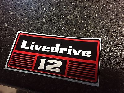 David Brown Livedrive 12 tractor sticker / decal