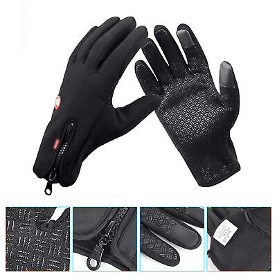 Cycling Touch Screen Gloves Waterproof Outdoor Jogging Skiing Hiking Running AU
