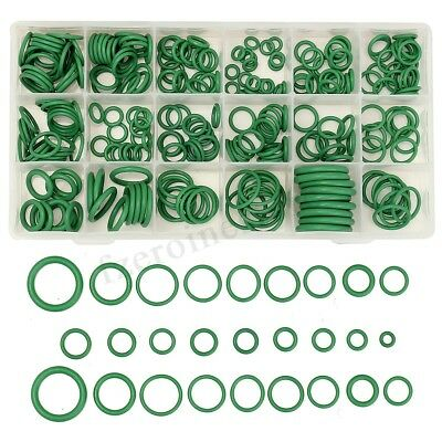 265Pcs R134a 18 Size Car Air Conditioning Rubber O Ring Set Gasket Seal Kit !