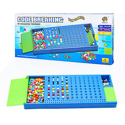 Mastermind Code Breaking Craking Board Games Kids Children Toy Family Party Gift