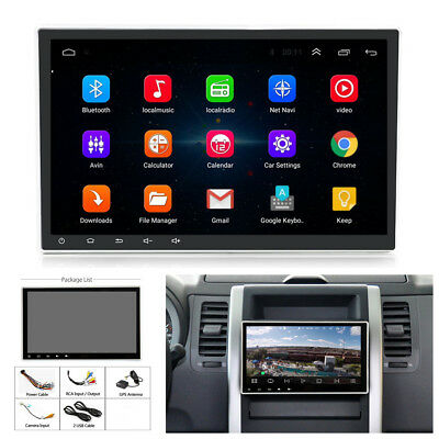 """10.1"""" 1080P Touch Screen 1+16G Car Stereo Radio GPS Navigation Mirror Link OBD"""