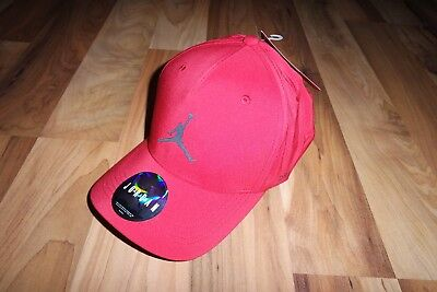 fc406637adee NIKE Air Jordan Classic 99 Woven RED Baseball Full Cap Hat 897559 687 M L L