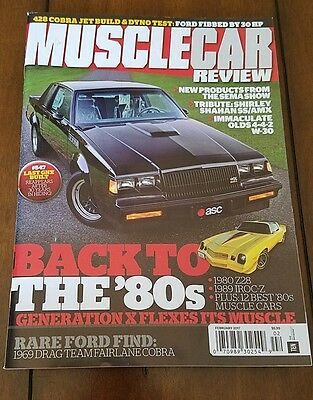 GNX Buick Grand National Muscle Car Review 2017 Feature Article #547 HTF