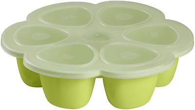 Beaba MULTIPORTIONS SILICONE 6 X 150ML - NEON Baby Feeding Weaning BN