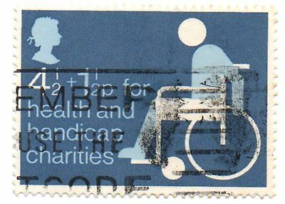 GB Stamps SG970 1975 Health and Handicap Funds. Date of Issue 22nd Jan 1975