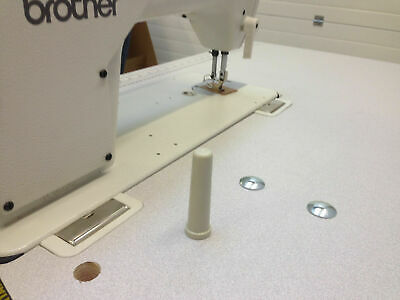 Brother 4 Thread Twin Needle Overlocker Industrial Sewing Machine Complete