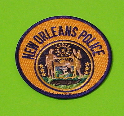 New Orleans  Louisiana  La   Police Patch   Free Shipping!!!