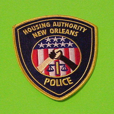 New Orleans  Louisiana  La  Housing Authority   Police Patch   Free Shipping!!!
