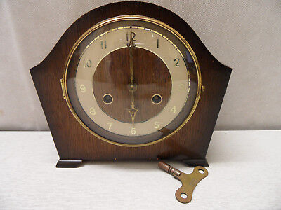 Andrew Wind Up Chime Mantel Clock (Made in Great Britain)