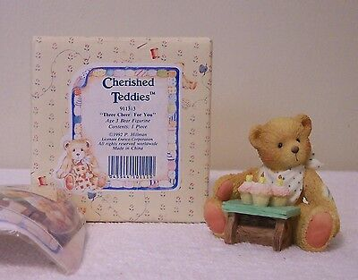 Cherished Teddies    THREE CHEERS FOR YOU