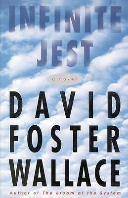 Infinite Jest by David Foster Wallace (English) Hardcover Book Free Shipping!