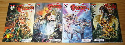 First Born #1-3 VF/NM complete series + first look - all A variants - witchblade