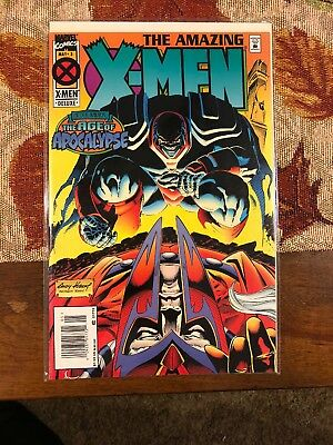 The Amazing X-Men Marvel Comics May 3(1995) After Xavier:The Age of Apocalypse