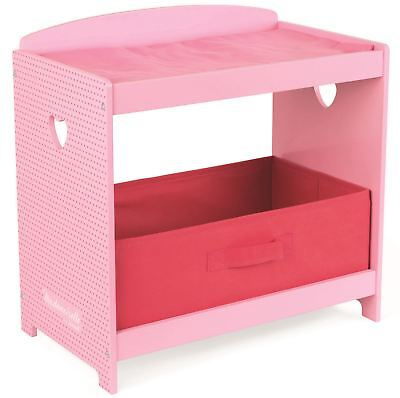 Janod MADEMOISELLE CHANGING TABLE Wooden Toys Games Preschool BN