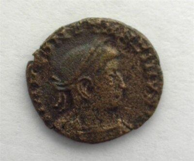 Constantine The Great 306-337 Ad. Ae 3 -Sol With Globe- Extremely Fine
