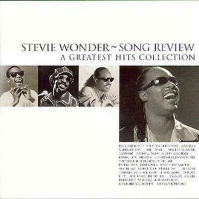 Stevie Wonder : Song Review: A GREATEST HITS COLLECTION CD (1998) ***NEW***