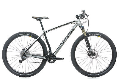 986917abc9b 2011 Specialized Stumpjumper Comp Carbon Hardtail Mountain Bike 19in Large  SRAM