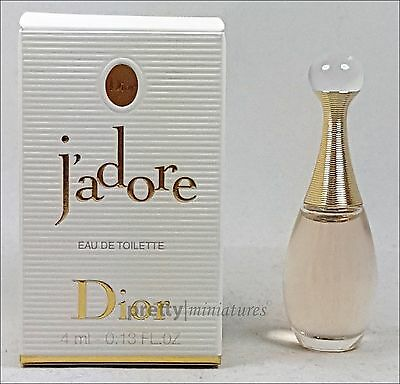 ღ J'adore - Christian Dior - Miniatur EDT 4ml