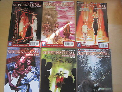 """Supernatural : """"rising Son"""", Complete 6 Issue 2008 Series. Cult Hit Tv Series"""