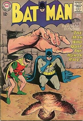 Batman # 165 - Batman And Robin - Infantino Cover - Moldoff/giella Art - 1964