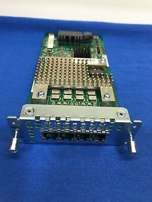 FXO Universal CISCO NIM-4FXO 4-port Network Interface Module TESTED